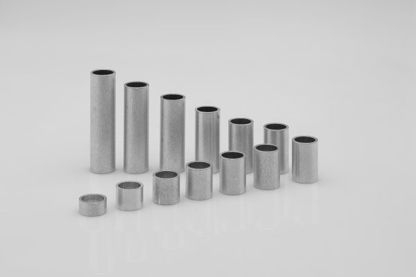 Aluminum sleeves 10x8x1 mm (up to M8*)