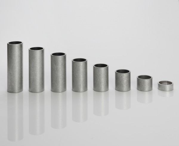 Aluminum sleeves | Ø 10 mm (inside) | Ø 12 mm (outside) | lengths 5 - 60 mm