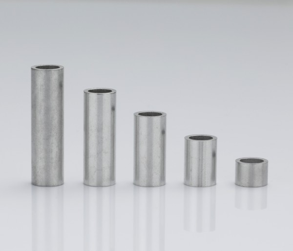 Aluminum sleeves 7x5x1 mm (up to M5*)