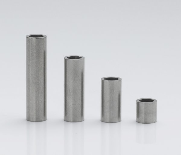 Stainless steel sleeves 5x3,4x0,8 mm (up to M3*)