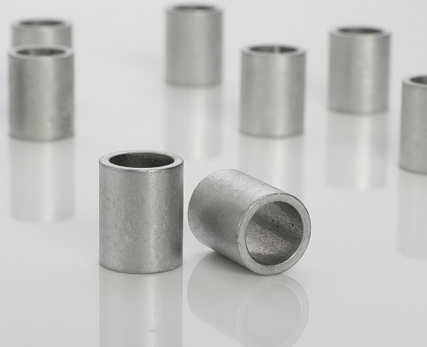 Aluminum sleeves 8x6x1 mm (up to M6*)